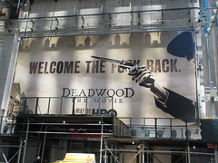 2019 Deadwood The Movie Billboard Times Square 8469 (Brechtbug) Tags: deadwood the movie billboard timothy olyphant ian mcshane molly parker kim dickens brad dourif keith carradine john hawkes jeffrey jones number one times square building below no longer existing orange news zipper ticker 42nd street broadway near 7th avenue new york city 05182019 next walgreens nyc hbo tv series 2004 2006 show television cable 2019