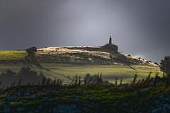 The Lone Soldier in storm light (Ian@NZFlickr) Tags: war memorial storm light otago peninsula dunedin nz lone soldier