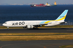 Air Do Boeing 767-381 JA01HD (Mark Harris photography) Tags: spotting hnd plane aviation canon 5d