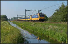 6/11 NSR E186 120 - Delft-Zuid, 18-05-2019 (dloc567) Tags: train trein zug zuch delft traxx br186 icr bombardier nsr