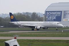 D-AECA Embraer Emb-190 Lufthansa Regional (graham19492000) Tags: aeroexpo2019 friedrichshafenairport daeca embraer emb190 lufthansaregional