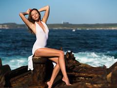 Elen (Manny Esguerra) Tags: portrait beach artphotomuse naturallight photoshoot outdoors beauty sydney elenm0fficial elen model