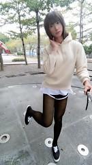偽娘UU愛穿絲襪(pantyhose lover crossdresser UU ) (uuLin) Tags: legs pantyhose crossdress stockings nylons nylonlegs tights legslover 絲襪 偽娘 黑絲 美腿 美腳 美足 綺麗 腿