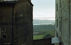 Sunset in Tuscany (michele.palombi) Tags: chiusdino siena film 35mm kodak portra400 nuvole tuscany c41 negativo colore