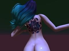 Time Machine 5-18-19_010 (Justine Flirty) Tags: fantasy tattoo lumae exile