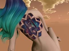 Time Machine 5-18-19_006 (Justine Flirty) Tags: fantasy tattoo lumae exile