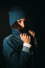 (Duke of Gnarlington) Tags: portrait girl blue flash sony a7r a7riii zeiss 50mm 14 vsco
