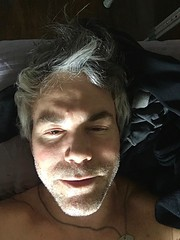 """""""Post Op"""" (Halvorsong) Tags: medical recovery totalhip surgery nashville rest nap bliss happy health healthy home composition selfie light shadow lightandshadow art portrait people projectamerica halvorsong indoor smile comfort face faces usa america happiness"""