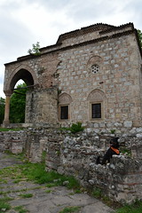 Nis (dinapunk) Tags: nis serbia dog pet mosque ruins monument history