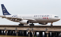 """China Eastern A330-243 B-6538 """"SKYTEAM"""" 0021 (A.S. Kevin N.V.M.M. Chung) Tags: aviation aircraft aeroplane airport airlines airbus taxiway transport taxiing plane spotting macauinternationalairport mfm a330 a330200 chinaeastern skyteam"""