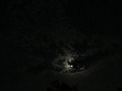 Clouds At Night. (dccradio) Tags: lumberton nc northcarolina robesoncounty outdoor outdoors outside moon moonlight cloud clouds night nightsky sky may saturday weekend saturdaynight saturdayevening evening canon powershot elph 520hs photooftheday photo365 project365 nature natural
