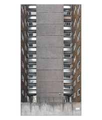 The Built Environment, South East London, England. (Joseph O'Malley64) Tags: thebuiltenvironment newtopography newtopographics manmadeenvironment manmadestructure building structure towerblock highrise tower abandoned abandonedtowerblock abandonedcouncilestate councilestate housingestate estate councilhousing housingassociations privateownership southeastlondon london england uk britain british greatbritain steelreinforcedconcretestructure reinforcedconcretestructure concretestructure concrete windows doubleglazedwindows upvc texturedconcrete railings signs signage urban urbanarchitecture architecture architecturalphotography documentaryphotography britishdocumentaryphotography awaitingdemolition demolition fujix fujix100t accuracyprecision