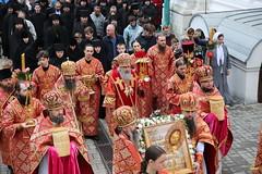 105. Божественная литургия в Успенском соборе 01.05.2019