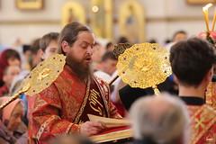 055. Божественная литургия в Успенском соборе 01.05.2019