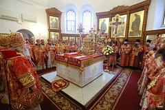 049. Божественная литургия в Успенском соборе 01.05.2019