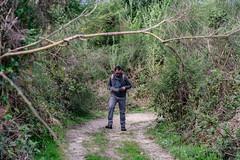 07-Le premier de cordée en difficulté (Alain COSTE) Tags: 2019 forêt hautevienne lavarache limousin nikon ocb printemps randonnée eymoutiers france