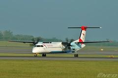 OE-LGB 20190518 VIE (SzépRichárd) Tags: aircraft airplane airport austrian bombardier dash loww