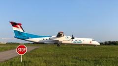 LX-LGF (Anne-Sophie L.) Tags: q400 planelover plane aviation airport lux ellx luxair bombardier