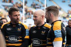 Three leavers (davidhowlett) Tags: ricoharena quins wasps coventry waspsrugby gallagher ricoh rugbyunion pre rugby iership harlequins