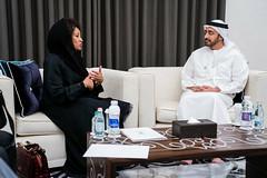 عبدالله بن زايد يستقبل وزيرة خارجية جنوب أفريقيا (H.H. Sheikh Abdullah bin Zayed Al Nahyan) Tags: southafrica southafricafm
