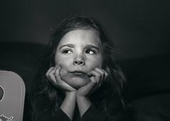 Lassitude (Plume.photo) Tags: enfant portraitnoirblanc moyenformat studio