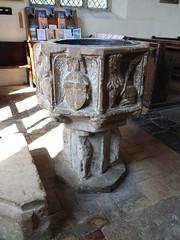 Font, Walberswick (Aidan McRae Thomson) Tags: walberswick church suffolk medieval font