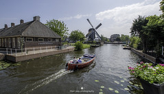 Enjoying beautiful day in Leiden (www.ownwayphotography.com) Tags: leiden netherlands dutch holland city street old architecture beautiful houses sky water travel outdoor day europe historic town cityscape bridge canal blue summer light view building tourism urban landmark river european boat center downtown canals tree waterways life traditional