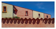 Good Morning Sardinia. (Richard Murrin Art) Tags: good morning sardinia house sky wall richard murrin art