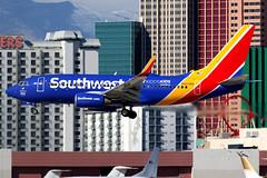 Southwest Airlines | Boeing 737-700 | N493WN | Kidd's kids logos | Las Vegas McCarran (Dennis HKG) Tags: aircraft airplane airport plane planespotting canon 7d 100400 lasvegas mccarran klas las southwest southwestairlines swa wn boeing 737 737700 boeing737 boeing737700 n493wn