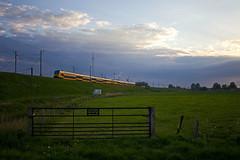 2 x NS DDZ 7500 - IC 769 Den Haag centraal - Groningen  - Hattem (Rene_Potsdam) Tags: hattem gelderland nederland railroad treinen trains trenes züge ddz europe europa nederlandsespoorwegen