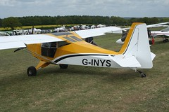 G-INYS (IndiaEcho) Tags: ginys sherwood ranger cub eghp popham airport airfield light general civil aircraft aeroplane aviation basingstoke hampshire england canon eos 1000d microlight fly in
