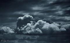 wolken lucht boven Lelystad