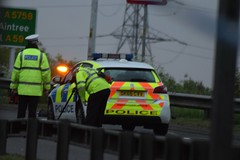 Merseyside Police Peugeot.. At RTC involving pedestrian (LGM999) Tags: northway a59 pedestrian rtc peugeot merseysidepolice