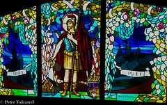 Krakow Poland (Peter Valcarcel) Tags: holidays stainedglass travel museum photography iphone phototravel krakow holiday poland stainedglassmuseumkrakow