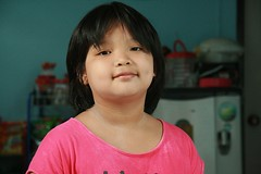 chin held high (the foreign photographer - ฝรั่งถ่) Tags: girl child khlong thanon portraits bangkhen bangkok thailand canon