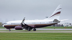 MSP N162WC (Moments In Flight) Tags: minneapolisstpaulinternationalairport msp kmsp n162wc boeing 737700 7377bcbbj bbj privatejet 737