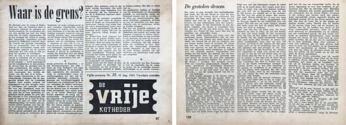 De Vrije Katheder - tijdschrift