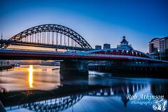 Tyne bridge (R0BERT ATKINSON) Tags: tynebridge swingbridge rivertyne newcastlequayside newcastleupontyne quayside sunrise tynewear robatkinsonphotography
