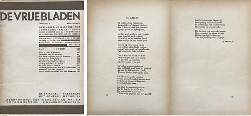 De Vrije Bladen - tijdschrift