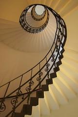 Climbing stairs (Elbmaedchen) Tags: staircase stairwell treppenhaus treppenauge escaliers escaleras architektur architecture interior upanddownstairs hamburg steps stufen