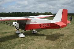 G-CCNJ (IndiaEcho) Tags: gccnj skyranger eghp popham airport airfield light general civil aircraft aeroplane aviation basingstoke hampshire england canon eos 1000d microlight fly in