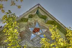 old house (Staropramen1969) Tags: house village window star abandoned haus dorf fenster stern verlassen maison fenêtre étoile abandonné дом деревня окно звезда заброшенный покинутый