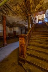 Stairway (Jeff Sullivan (www.JeffSullivanPhotography.com)) Tags: historic mining town esmeralda county nevada usa abandoned rural decay photography canon eos 6d photos copyright jeff sullivan may 2018