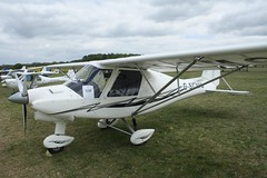G-SCMG (IndiaEcho) Tags: gscmg ikarus c42 eghp popham airport airfield light general civil aircraft aeroplane aviation canon eos 1000d basingstoke hampshire england