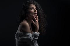 Felina (Pierre Beteille) Tags: portrait model color couleur eyes regard look yeux studio toulouse
