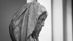(AAcerbo) Tags: themetropolitanmuseumofart manhattan newyorkcity nyc museum art sculpture bust portrait head italian widescreen cinematic stone bw