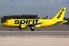 Spirit Airlines | Airbus A319 | N530NK | Las Vegas McCarran (Dennis HKG) Tags: aircraft airplane airport plane planespotting canon 7d 100400 lasvegas mccarran klas las spirit spiritairlines nks nk airbus a319 airbusa319 n530nk