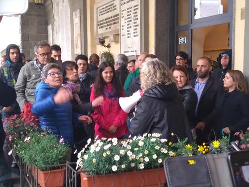 Manifestazione antifascista Montevarchi