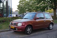 2000 Nissan Micra 1.3i Aztec (NielsdeWit) Tags: nielsdewit car vehicle 88gdjg nissan micra ede 13 13i aztek