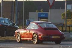 1976 Porsche 911 (NielsdeWit) Tags: nielsdewit car vehicle yg15nf porsche 911 red veenendaal